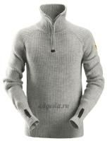 Шерстяной свитер ½-Zip Wool Sweater, Snickers Workwear 2905