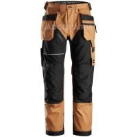 Рабочие штаны Canvas+ Work Trousers+ Holster Pockets, Snickers Workwear 6214
