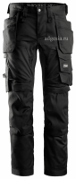 Рабочие брюки стрейч Stretch Trousers Holster Pockets (арт.6241), Snickers Workwear