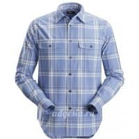 Фланелевая рубашка в клетку RuffWork Flannel Checked Shirt, Snickers Workwear 8502