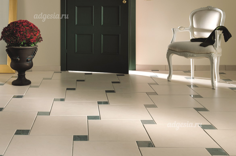 Дизайн плитки на полу